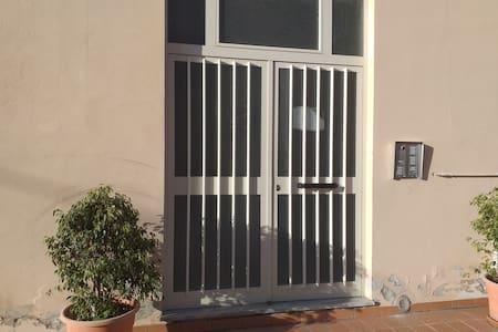 Portone di ingresso. Outdoor entry door