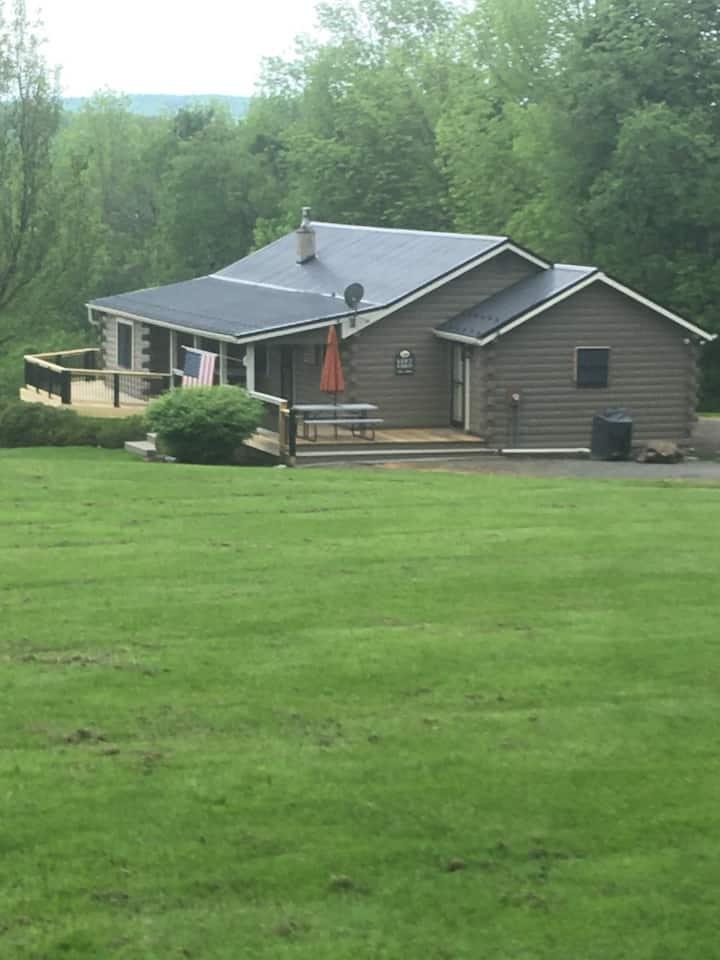 Beautiful Log Home in NE PA
