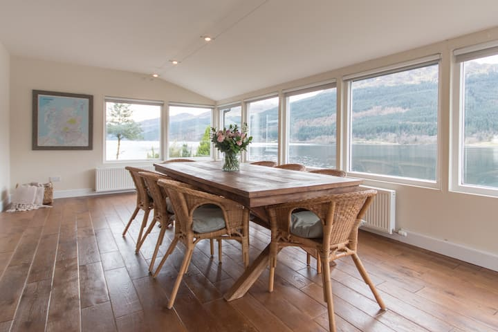 Rossmay House - 4 Bedrooms - waterfront / mountain