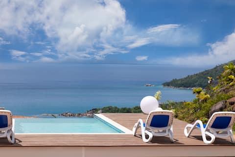 Terrasse Sur Lazio , Mont Plaisir, Praslin- Room 1