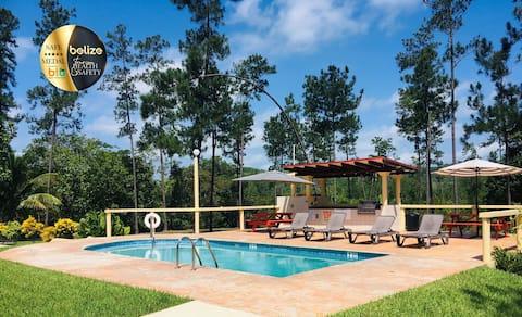 Villa & Pool in Mountain Pine Ridge. Gold Standard