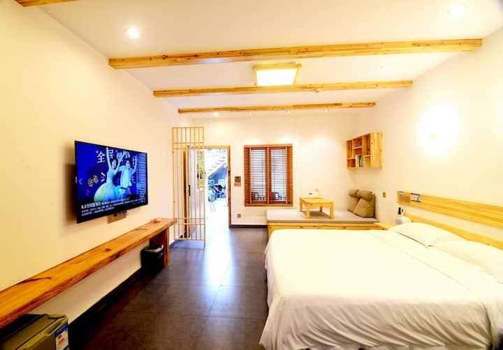西塘景区内·酒吧街·季忆·猫窝双床房亲子房含早餐可以撸猫带厨房