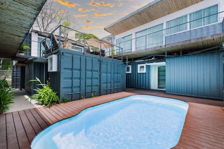 Bamboo Boutique Hotel-Habitación Doble + Sofá Cama