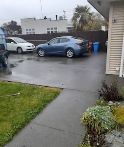 all the driveway is for your car/s
