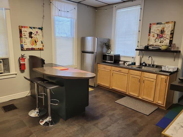 Traveler's private apartment
