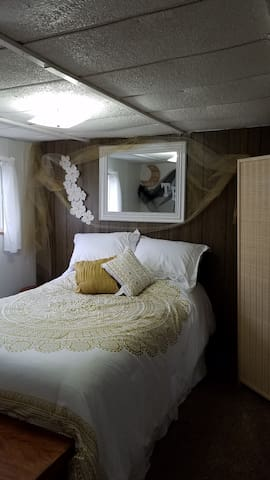 full sz bed in bedroom 1
