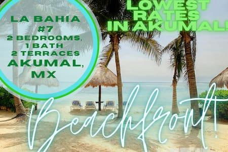 Sea & Jungle Views/2BR Beachfront Condo La Bahia 7