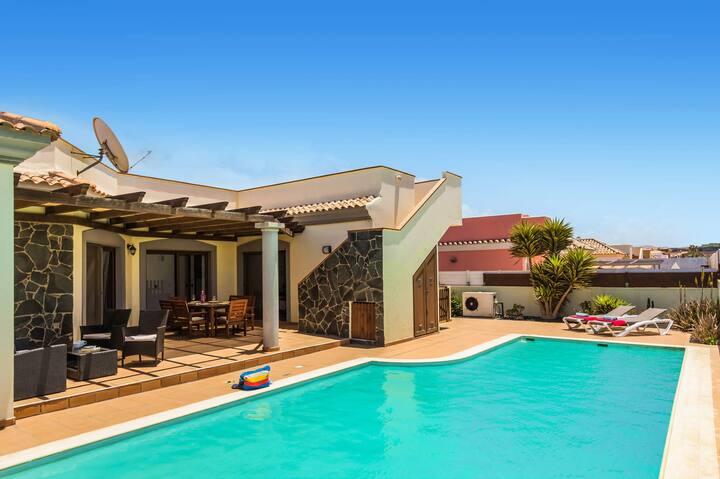 Villa Maca in Corralejo, Fuerteventura