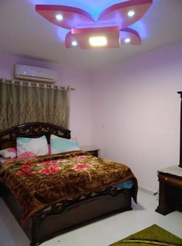 First rooms with Queen size bed & AC