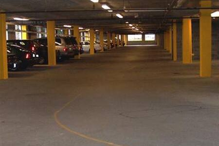 The garage and all hallways are lighted 24 hours a day.