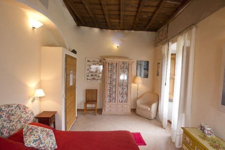 double room  with fresco