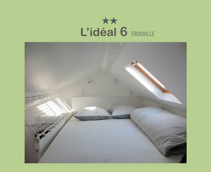 L'IDÉAL 6 : studio optimisé  (casino, plage <150m)