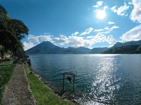 Spectacular Lakefront Cabin  Baba Yaga Atitlan