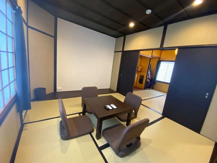 5mins Toji Sta/Theater House/Free WiFi/Free5Bikes