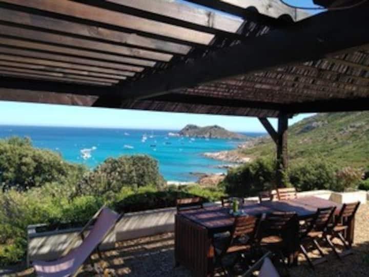 Ramatuelle villa: breathtaking view