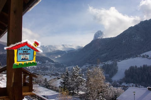 """Grandparents' house "" - Ortisei - Valgardena"