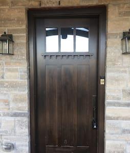 "Front entrance 42"" wide"
