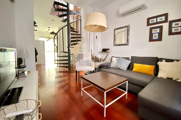 Lovely duplex in the center of Granada