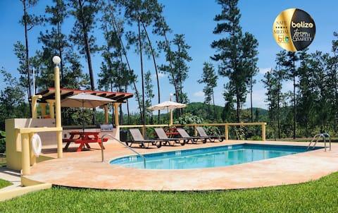 House & Pool in Mountain Pine Ridge. Gold Standard