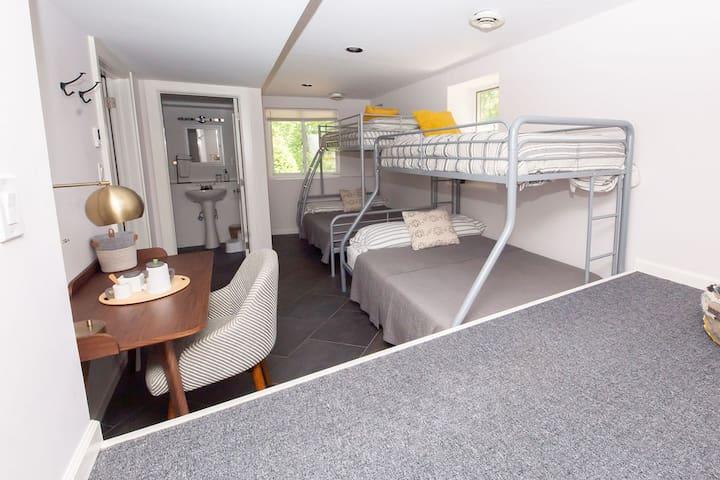 """Kids"" bedroom + desk for Work from Home"