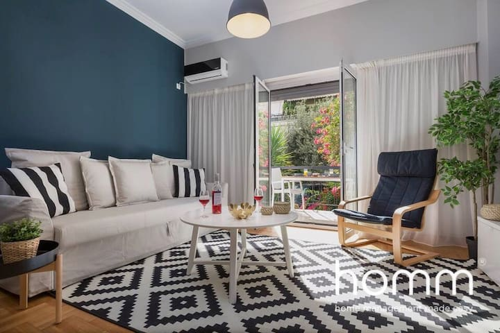 64m² homm Newly Renovated Apartment in Athens