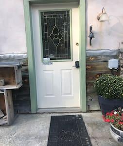Key padded Entrance door