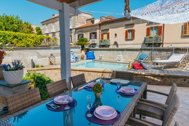 Villa Totti with Private Pool, Garden, Parking