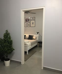 This is the actual door to enter bedroom. The size same with entrance door.