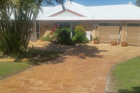 front of the house andparking space