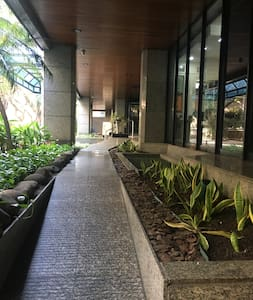 rampa de acesso ao lobby