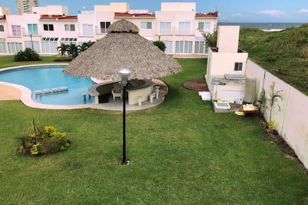 Veracruz P Dorada Playa Piscina Relax Boca del Río