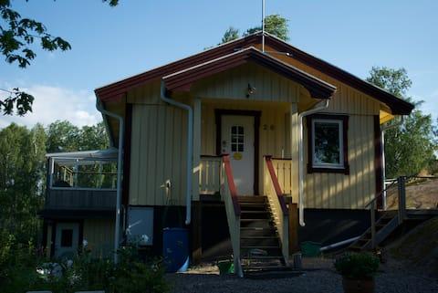 Yellow House ,放鬆身心的所有條件。