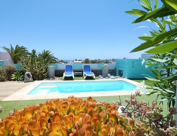Casita Carabela, top wifi, piscine chauffée