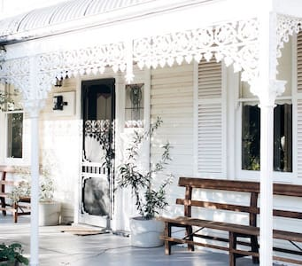There is one step up from the carport onto the verandah however if you park on street there is no step up to the front door.