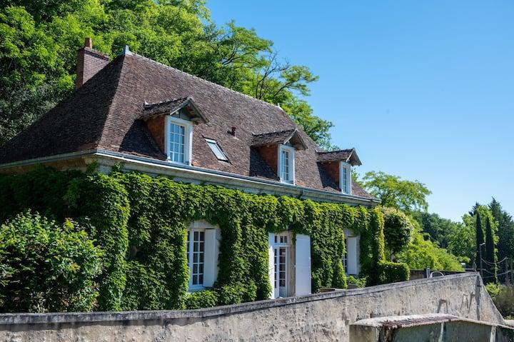 La Vernelle, parc du Chateau des Ormeaux.