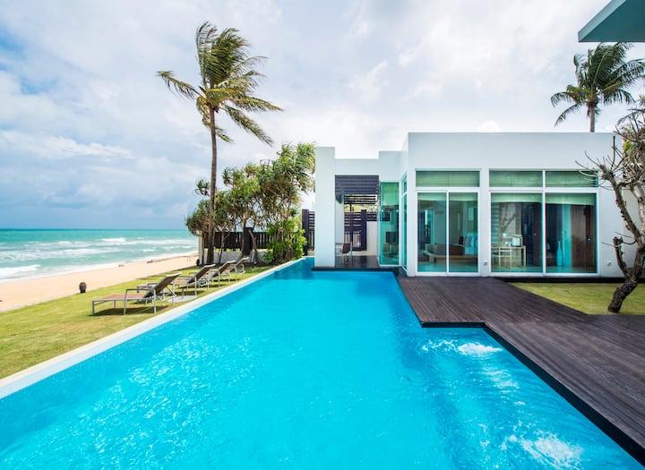 4 Bed Beach Front Pool Villa