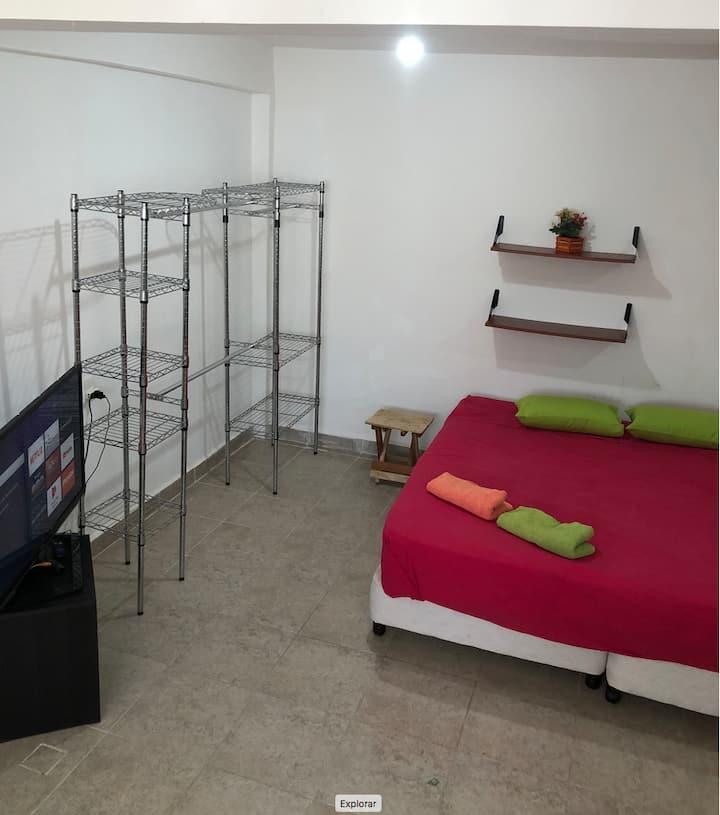 Habitación Bacalar, 5 personas , A/A, wifi, TV