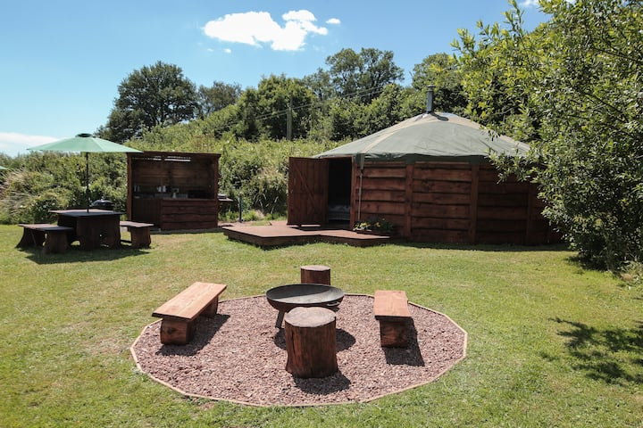 Woodpecker Yurt @ Blackdown Yurts