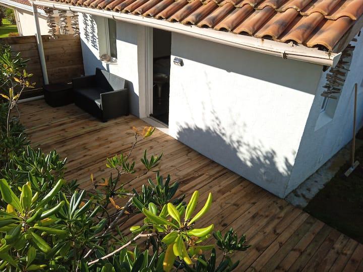 Studio Maisonnette à 100m de la Plage à Biarritz