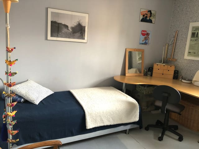Bedroom 3 - single room and/or office with large desk available