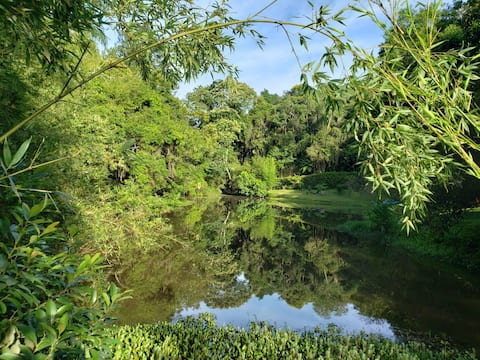 NATURE AND COMFORT - 40 MINUTES FROM SAO PAULO!