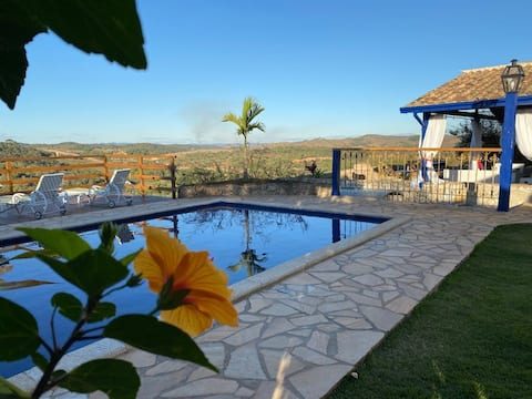 Casa dos Sonhos Tiradentes; vistas-arte-jardins