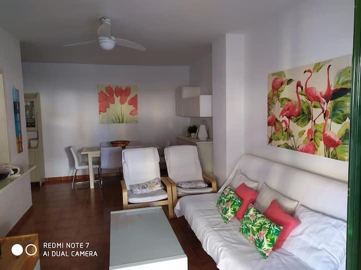 Apartamento con jardín privado en Zahara Atunes