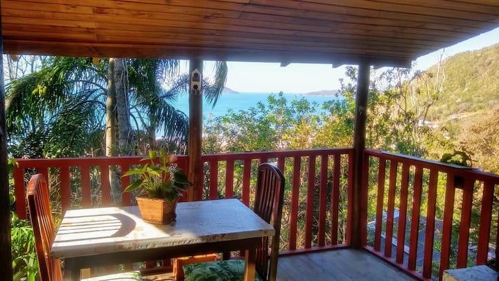 Cabana Paraíso - Praia da Solidão - Florianópolis
