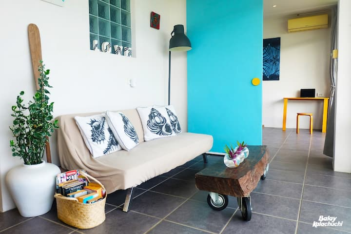 Deluxe Private Seaside Apartment Barili