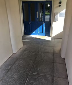 We have a wide access door which will lead to a lift for all levels of the property