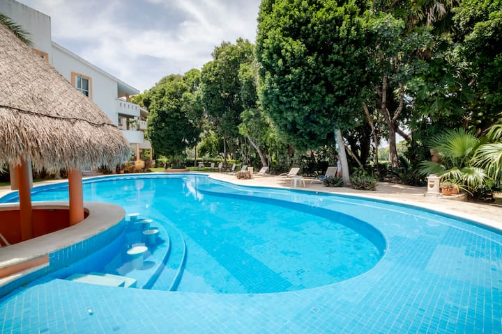 Apartment in Playacar front beach