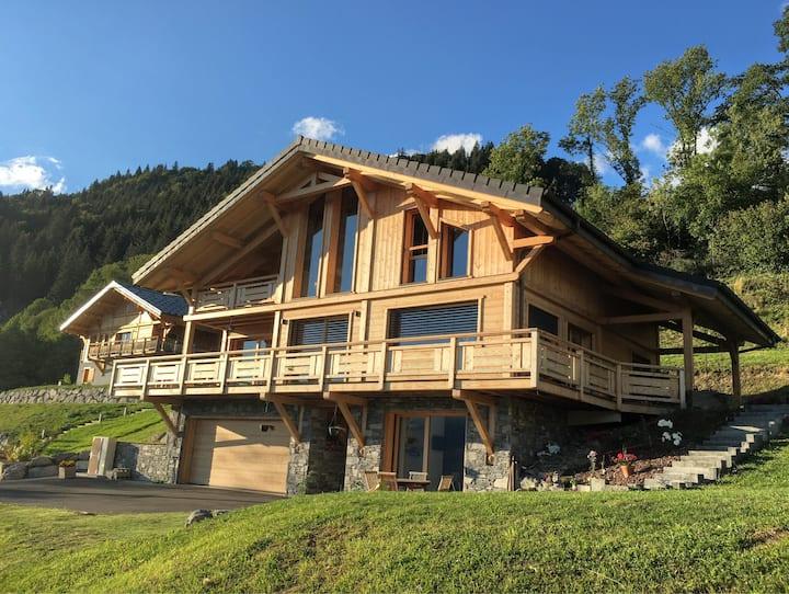 Appt 4p avec jardin et terrasse Verchaix Morillon
