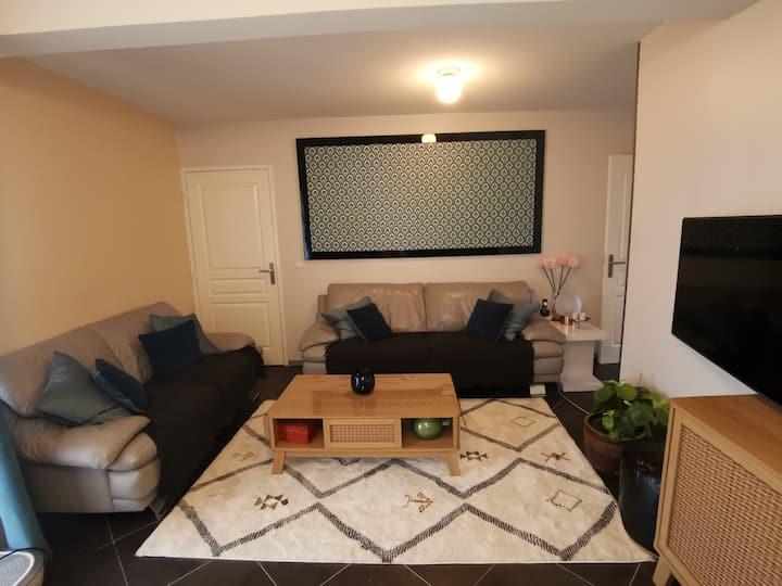 Chambre cosy dans un appartement très agréable
