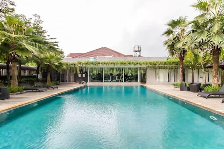 Luxury Tranquil Home + Pool at Jalan Palagan Jogja